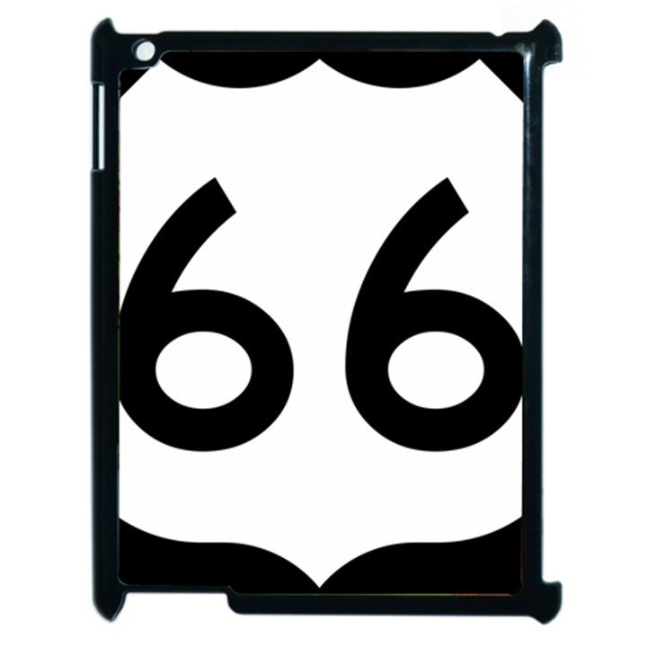 U.S. Route 66 Apple iPad 2 Case (Black)