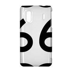 U.S. Route 66 HTC Evo Design 4G/ Hero S Hardshell Case