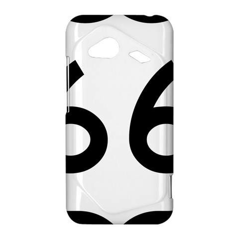 U.S. Route 66 HTC Droid Incredible 4G LTE Hardshell Case