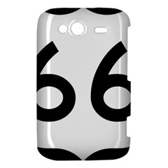 U.S. Route 66 HTC Wildfire S A510e Hardshell Case