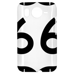 U.S. Route 66 HTC Desire HD Hardshell Case