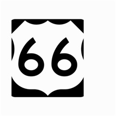 U S  Route 66 Small Garden Flag (two Sides)