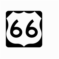 U S  Route 66 Large Garden Flag (two Sides)