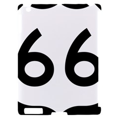 U.S. Route 66 Apple iPad 2 Hardshell Case (Compatible with Smart Cover)