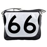 U.S. Route 66 Messenger Bags Front