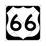 U.S. Route 66 Acrylic Tangram Puzzle (6  x 6 ) Front
