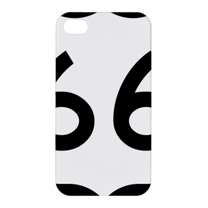 U.S. Route 66 Apple iPhone 4/4S Premium Hardshell Case