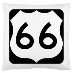 U S  Route 66 Large Cushion Case (one Side)