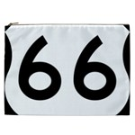 U.S. Route 66 Cosmetic Bag (XXL)  Front