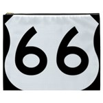 U.S. Route 66 Cosmetic Bag (XXXL)  Front