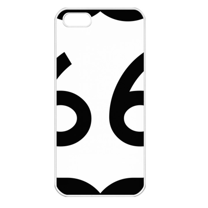 U.S. Route 66 Apple iPhone 5 Seamless Case (White)
