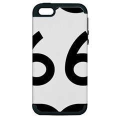 U.S. Route 66 Apple iPhone 5 Hardshell Case (PC+Silicone)