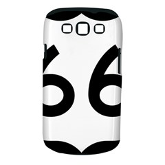 U.S. Route 66 Samsung Galaxy S III Classic Hardshell Case (PC+Silicone)