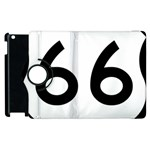 U.S. Route 66 Apple iPad 3/4 Flip 360 Case Front