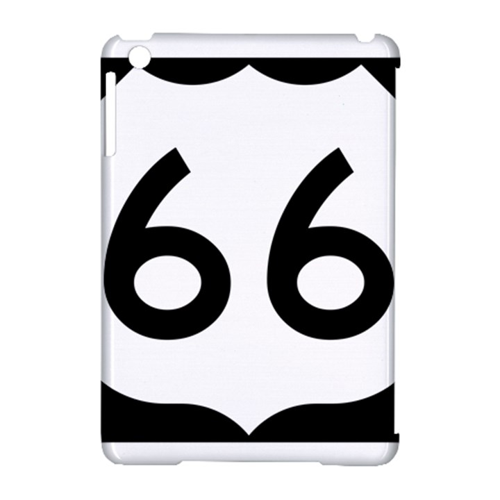 U.S. Route 66 Apple iPad Mini Hardshell Case (Compatible with Smart Cover)