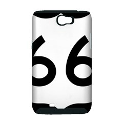 U.S. Route 66 Samsung Galaxy Note 2 Hardshell Case (PC+Silicone)