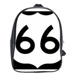 U.S. Route 66 School Bags (XL)  Front