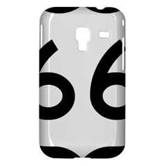 U.S. Route 66 Samsung Galaxy Ace Plus S7500 Hardshell Case