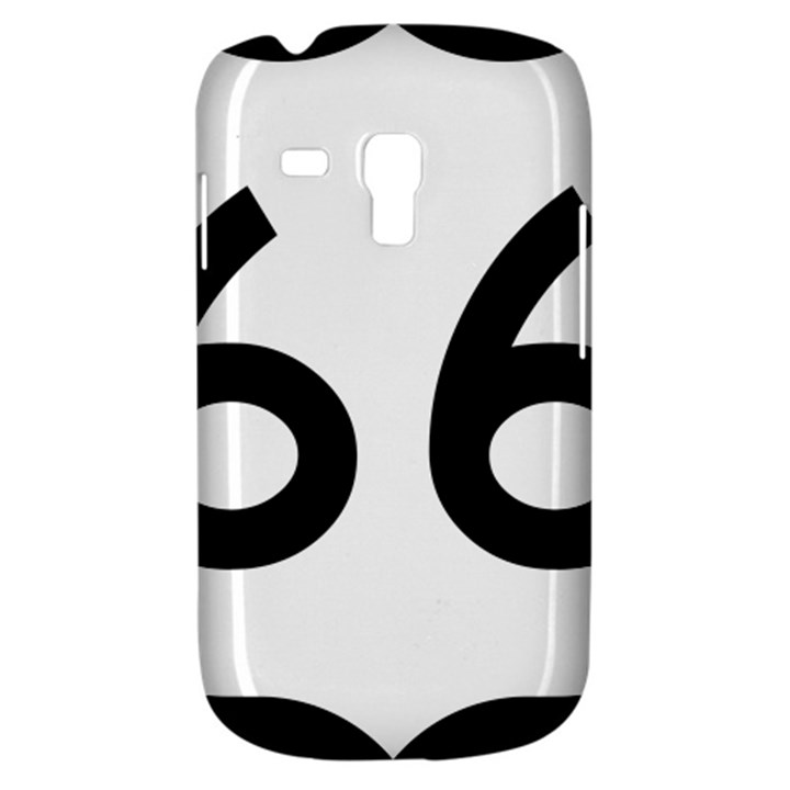 U.S. Route 66 Samsung Galaxy S3 MINI I8190 Hardshell Case