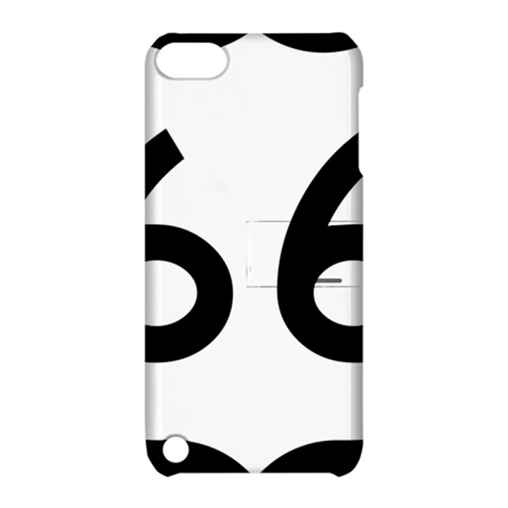 U.S. Route 66 Apple iPod Touch 5 Hardshell Case with Stand