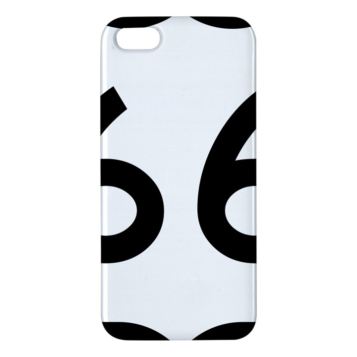 U.S. Route 66 Apple iPhone 5 Premium Hardshell Case