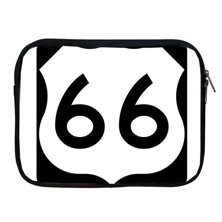 U.S. Route 66 Apple iPad 2/3/4 Zipper Cases