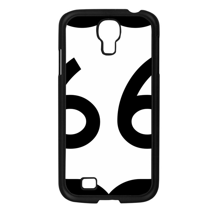 U.S. Route 66 Samsung Galaxy S4 I9500/ I9505 Case (Black)