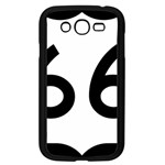 U.S. Route 66 Samsung Galaxy Grand DUOS I9082 Case (Black) Front
