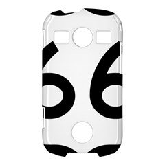 U.S. Route 66 Samsung Galaxy S7710 Xcover 2 Hardshell Case