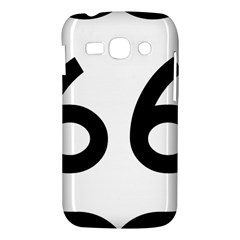 U.S. Route 66 Samsung Galaxy Ace 3 S7272 Hardshell Case