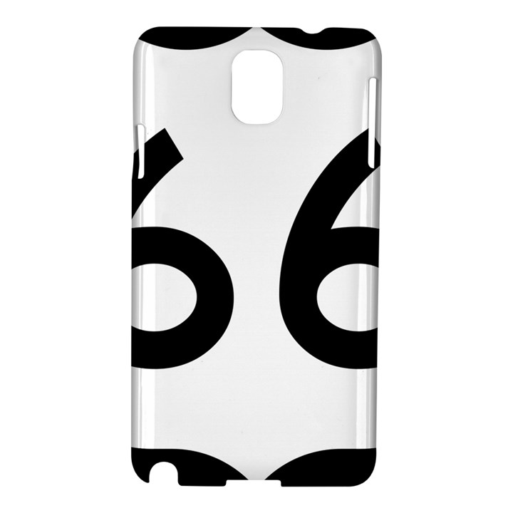 U.S. Route 66 Samsung Galaxy Note 3 N9005 Hardshell Case