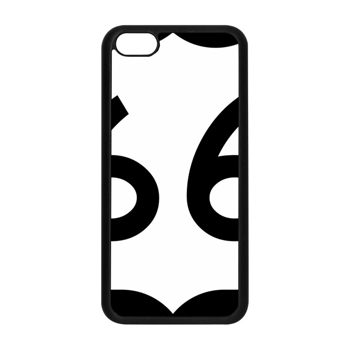 U.S. Route 66 Apple iPhone 5C Seamless Case (Black)