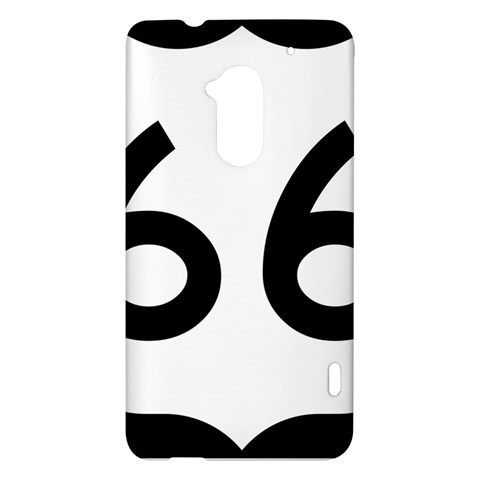 U.S. Route 66 HTC One Max (T6) Hardshell Case