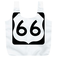 U S  Route 66 Full Print Recycle Bags (l)