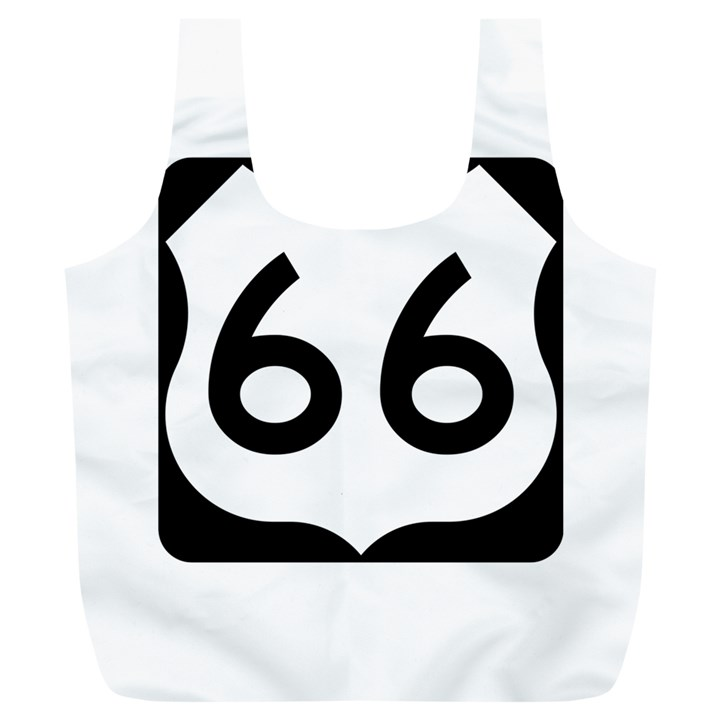 U.S. Route 66 Full Print Recycle Bags (L)