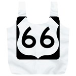 U.S. Route 66 Full Print Recycle Bags (L)  Back
