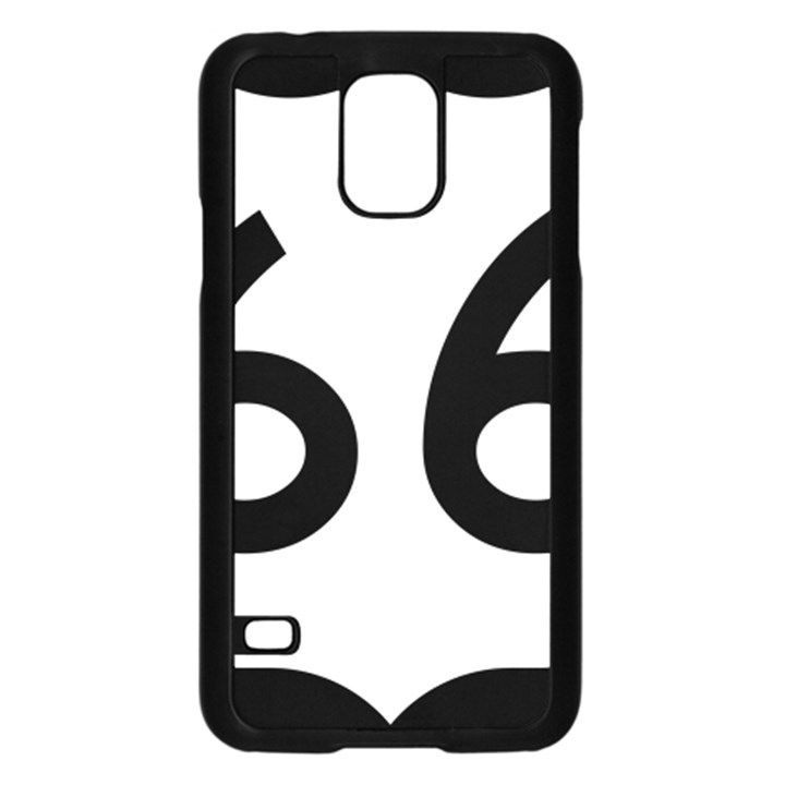 U.S. Route 66 Samsung Galaxy S5 Case (Black)