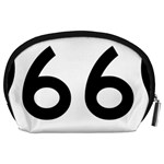 U.S. Route 66 Accessory Pouches (Large)  Back
