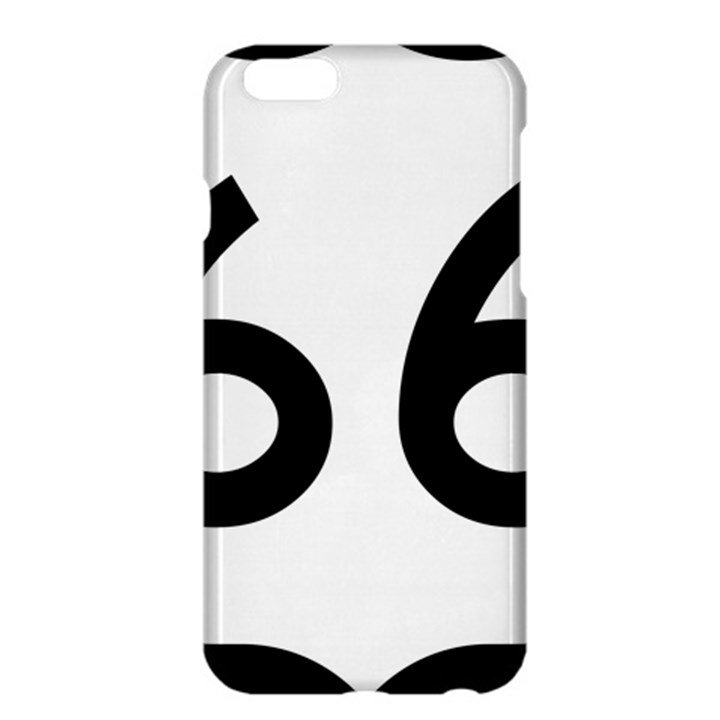 U.S. Route 66 Apple iPhone 6 Plus/6S Plus Hardshell Case