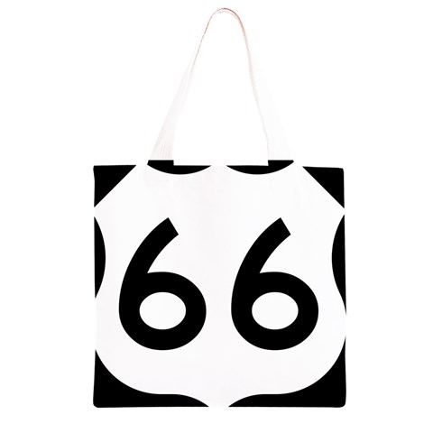 U.S. Route 66 Grocery Light Tote Bag