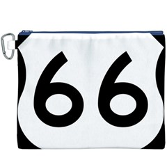 U S  Route 66 Canvas Cosmetic Bag (xxxl)