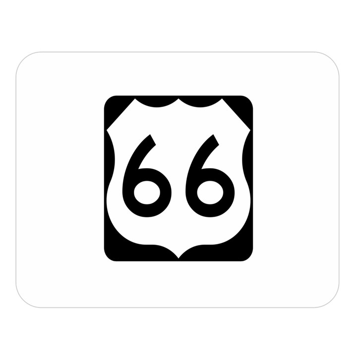 U.S. Route 66 Double Sided Flano Blanket (Large)
