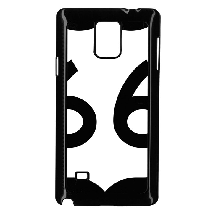 U.S. Route 66 Samsung Galaxy Note 4 Case (Black)