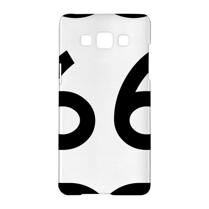 U.S. Route 66 Samsung Galaxy A5 Hardshell Case