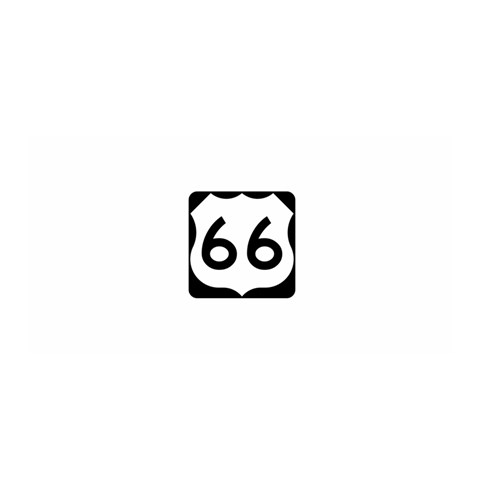 U.S. Route 66 Satin Wrap