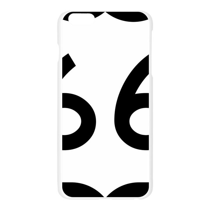 U.S. Route 66 Apple Seamless iPhone 6 Plus/6S Plus Case (Transparent)