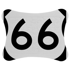 U S  Route 66 Jigsaw Puzzle Photo Stand (bow)