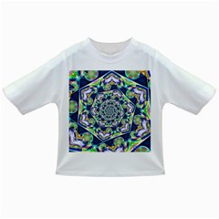 Power Spiral Polygon Blue Green White Infant/toddler T Shirts