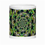 Power Spiral Polygon Blue Green White Night Luminous Mugs Center