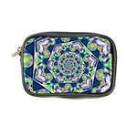 Power Spiral Polygon Blue Green White Coin Purse Front